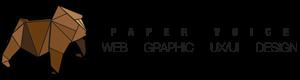 paper voice logo, pv logo,