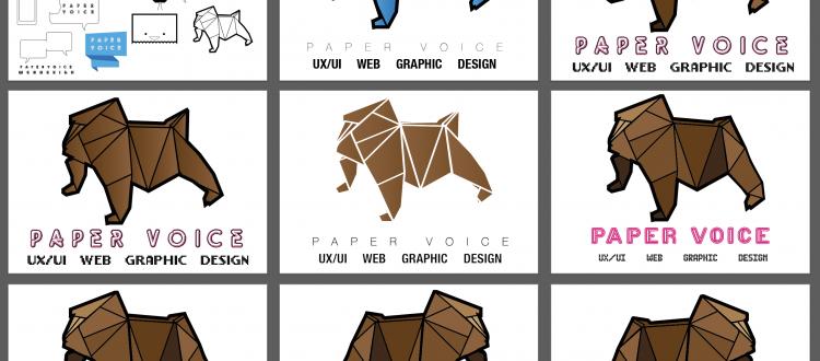 paper voice logos, pv logos,