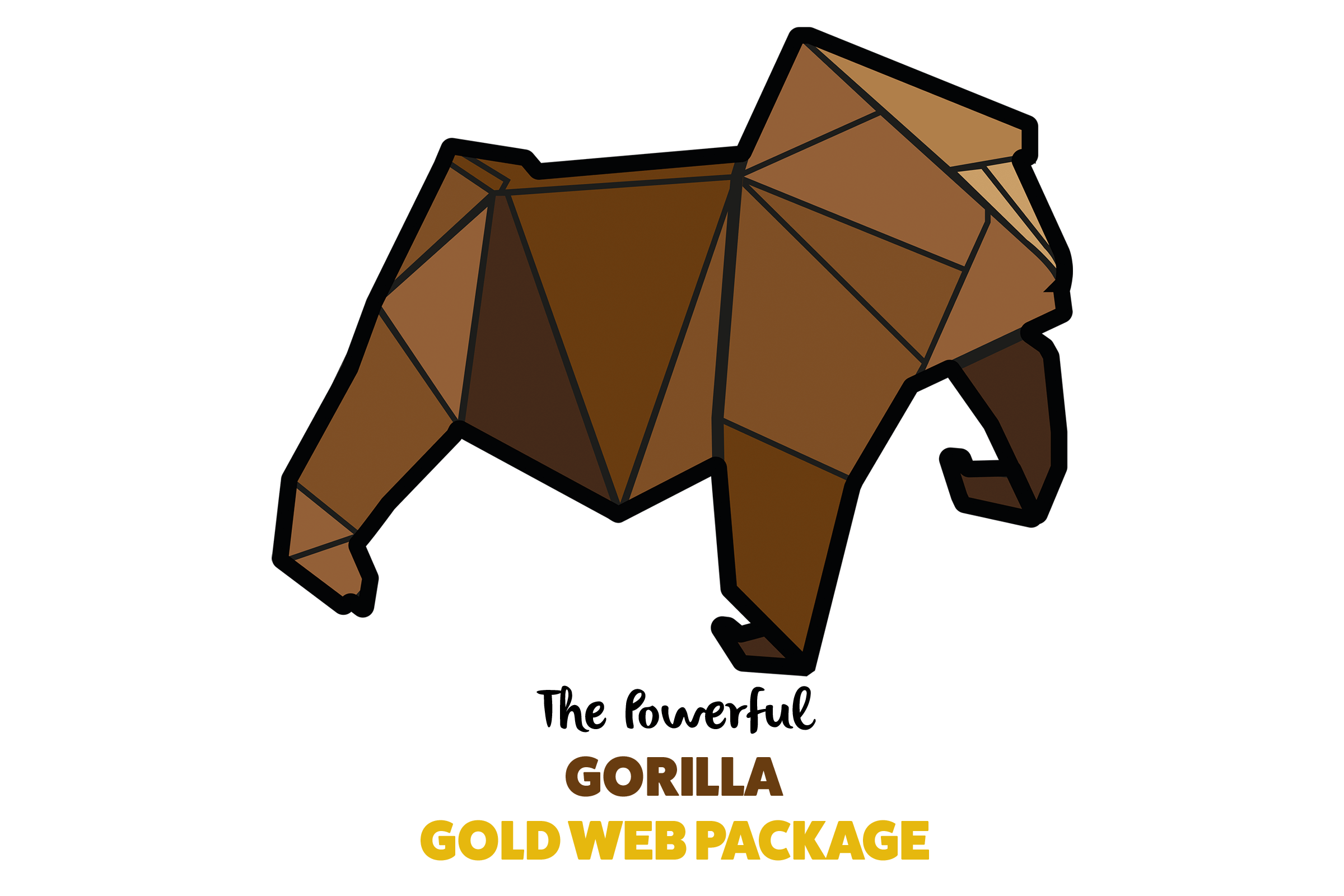 paper voice, oragami, web, graphic, logo, branding, design, ux, ui, newcastle upon tyne, gorilla
