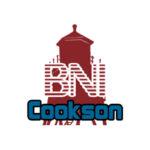 bni cookson, bni cookson logo, logo design, logo design newcastle, paper voice logo design