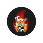 flavour before fire, flavour before fire logo, logo design, logo design newcastle, paper voice logo design