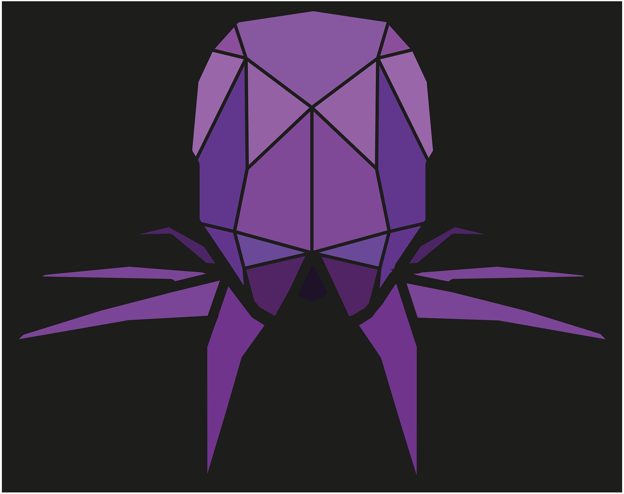 paper voice, oragami, web, graphic, logo, branding, design, ux, ui, newcastle upon tyne, octopus, squid,