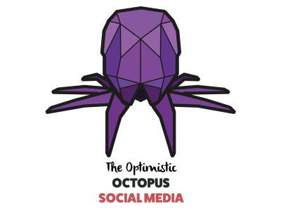 paper voice, oragami, web, graphic, logo, branding, design, ux, ui, newcastle upon tyne, octopus, squid, social media, social media management,