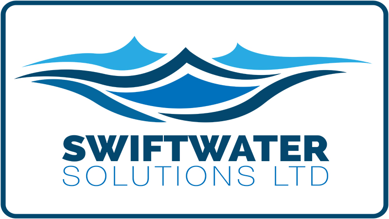 Swiftwater solutions, swift water solutions, logo design, paper voice, boat rescue,
