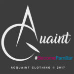 acquaint clothing, acquaint, clothing, northeast clothing, north east, northeast, logo design, paper voice, graphic design,