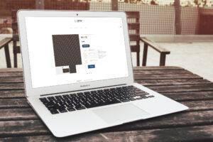 prw, patterson ryan, wireworks, logo, web design, paper voice, mock up, e-commerce,