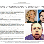 northern insight, northern insight article, paper voice, steve paul myers, lauren laverne, zach braff, chris hawkins, july, illustrator newcaslte,